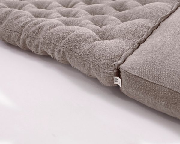 Home of Wool poang chair cushion with natural wool filling (2)