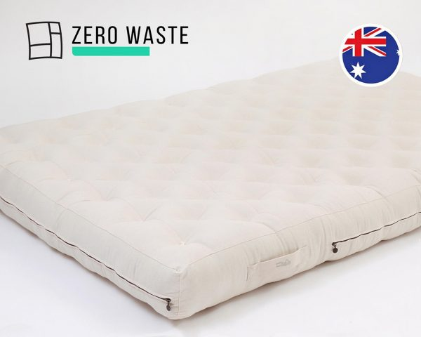 Home of Wool mattress with stitched fabric АU
