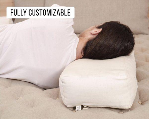 Home of Wool Wool Rectangular Side Sleeper Pillow and Pillowcase