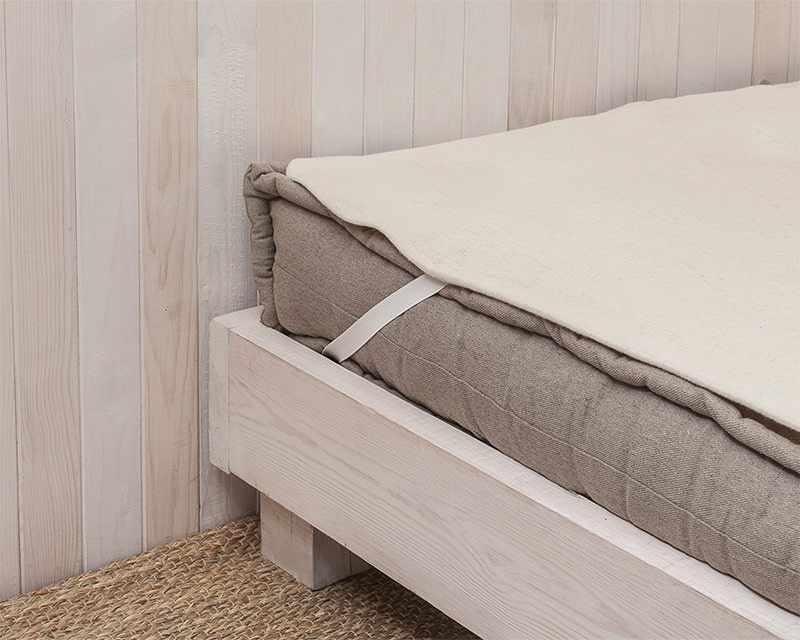 Home of Wool mattress protector for extra protection