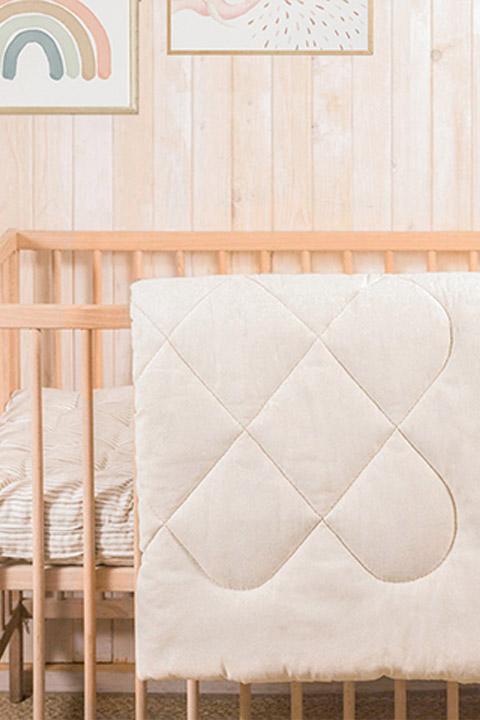 natural children's bedding - duvet insert (slider image)